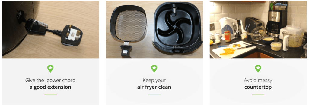 The Top 3 Safety Concerns When Air Frying