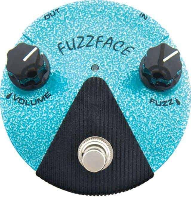 Best Mini Fuzz Pedal Dunlop FFM3 Jimi Hendriz Fuzz Face Mini