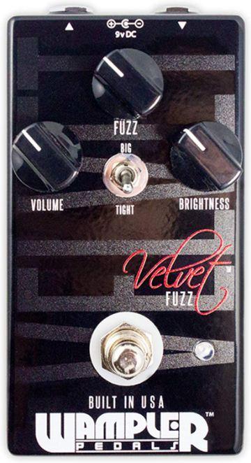 Best for Pros Wampler Velvet Fuzz V2 Fuzz Pedal-1