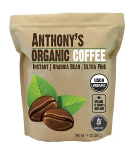 How Much Does Instant Coffee Cost - Anthony's Organic