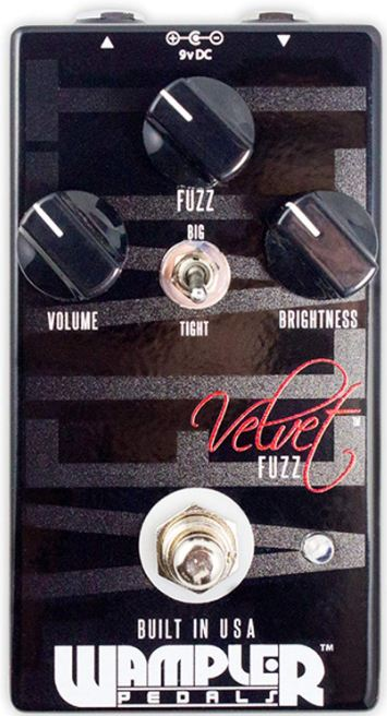 How Much Does a Good Fuzz Pedal Cost - Wampler Velvet