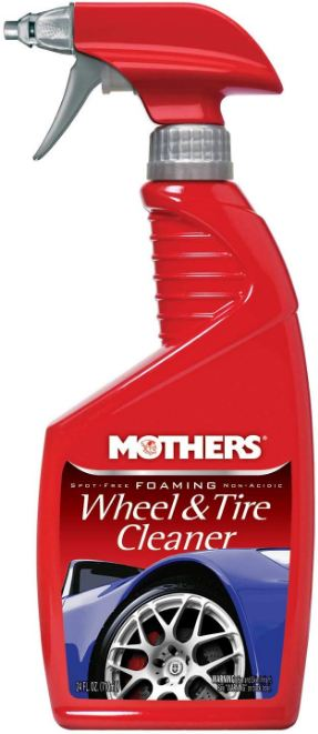 How Much Should a Wheel Cleaner Cost - Mothers Foaming