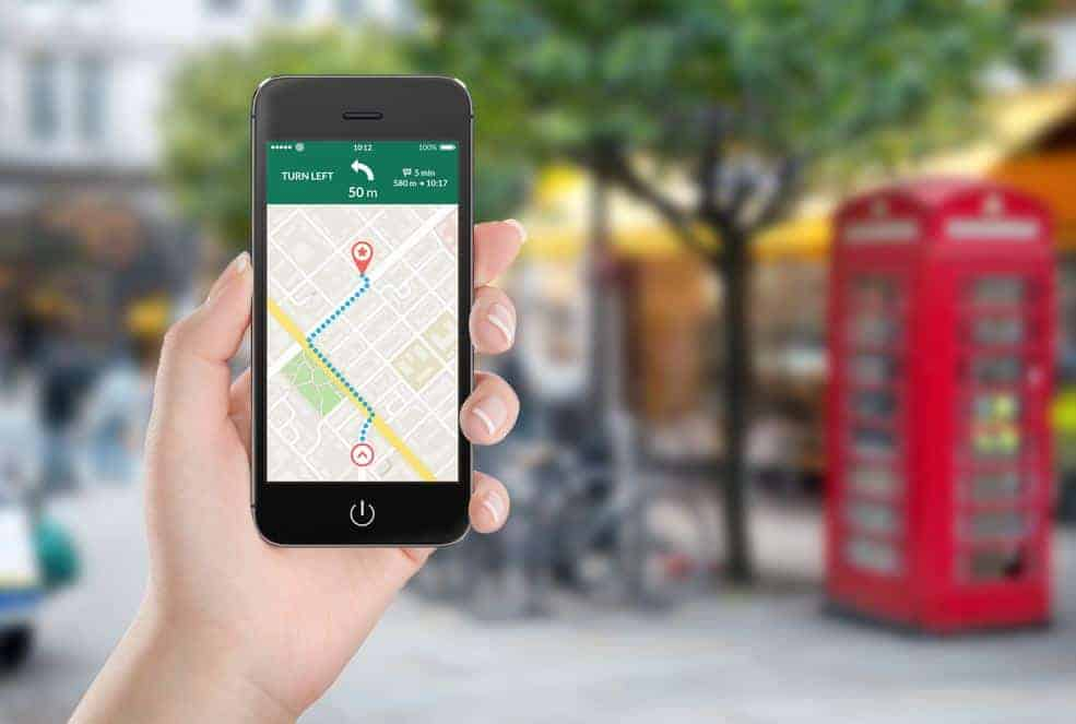 Benefits of Built-In GPS - Exact and specific directions
