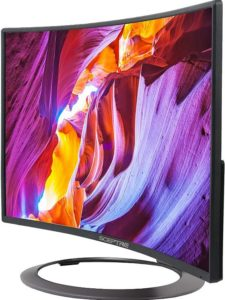 """Gaming Monitor Review Sceptre C248W-1920R 24"""" Curved LED Gaming Monitor"""