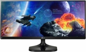 """What is the Average Price for a Gaming Monitor - LG 25"""" LED"""