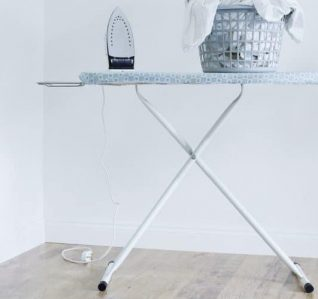 Benefits of Using an Ironing Board - Leg Stability