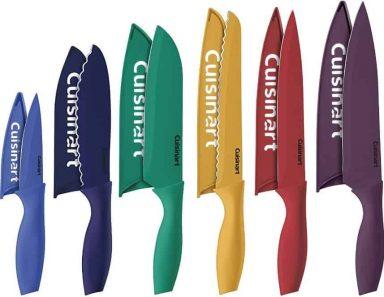 Best Budget Set Cuisinart Color Knife Set