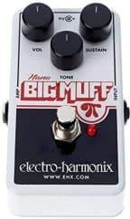 Best Compact Model Electro-Harmonix Nano Big Muff Guitar Distortion Effects Pedal-1