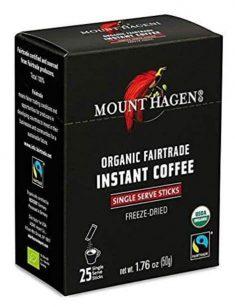 Best Instant Coffee Packets Mount Hagen Organic Instant Regular Coffee