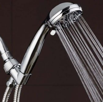 Best Overall Shower Head AquaDance Chrome Hand-Held Shower Head