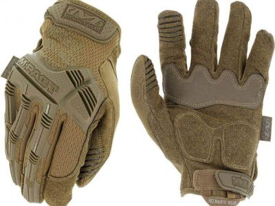 Best Tactile Work Gloves Mechanix Wear M-Pact Coyote Tactile Gloves