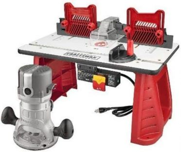 Best for Beginners Craftsman Router and Router Table Combo