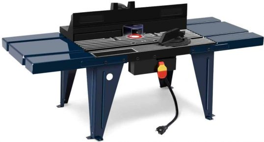 Best for Budget Shoppers Goplus Electric Aluminum Router Table