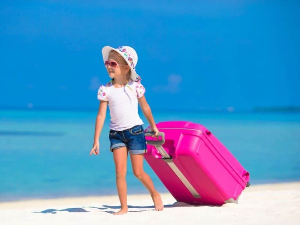 Best for Kids Rockland Polycarbonate Carry On