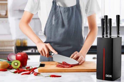 Best for Modern Kitchens DEIK 6-Piece Knife Set