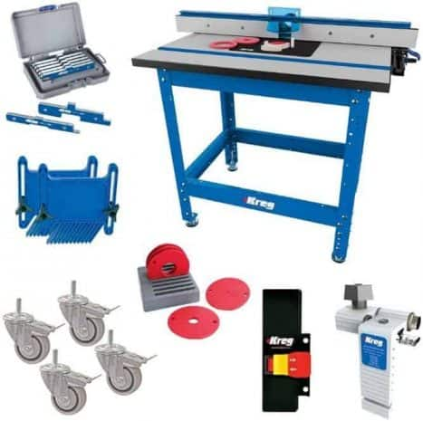 Best for the Money Kreg PRS1045 Router Table