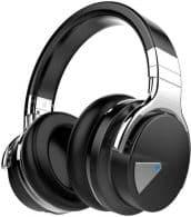 Best of the Best COWIN E7 Noise Canceling Bluetooth Headphones-Black