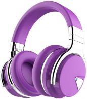 Best of the Best COWIN E7 Noise Canceling Bluetooth Headphones-Purple