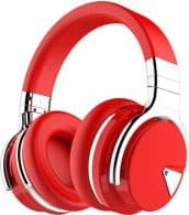 Best of the Best COWIN E7 Noise Canceling Bluetooth Headphones-Red