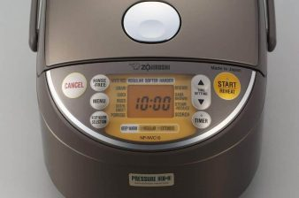 Best of the Best Zojirushi Induction Heating Pressure Rice Cooker and Warme