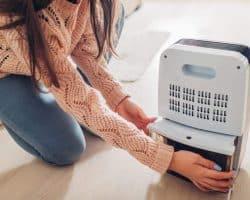 Buying a Dehumidifier – Features You Need - interior of the dehumidifier