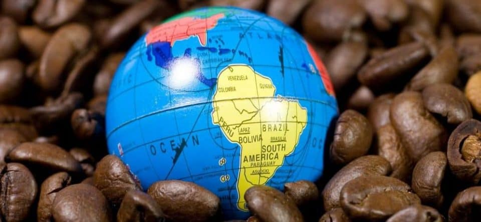 Country of Origin - South American beans