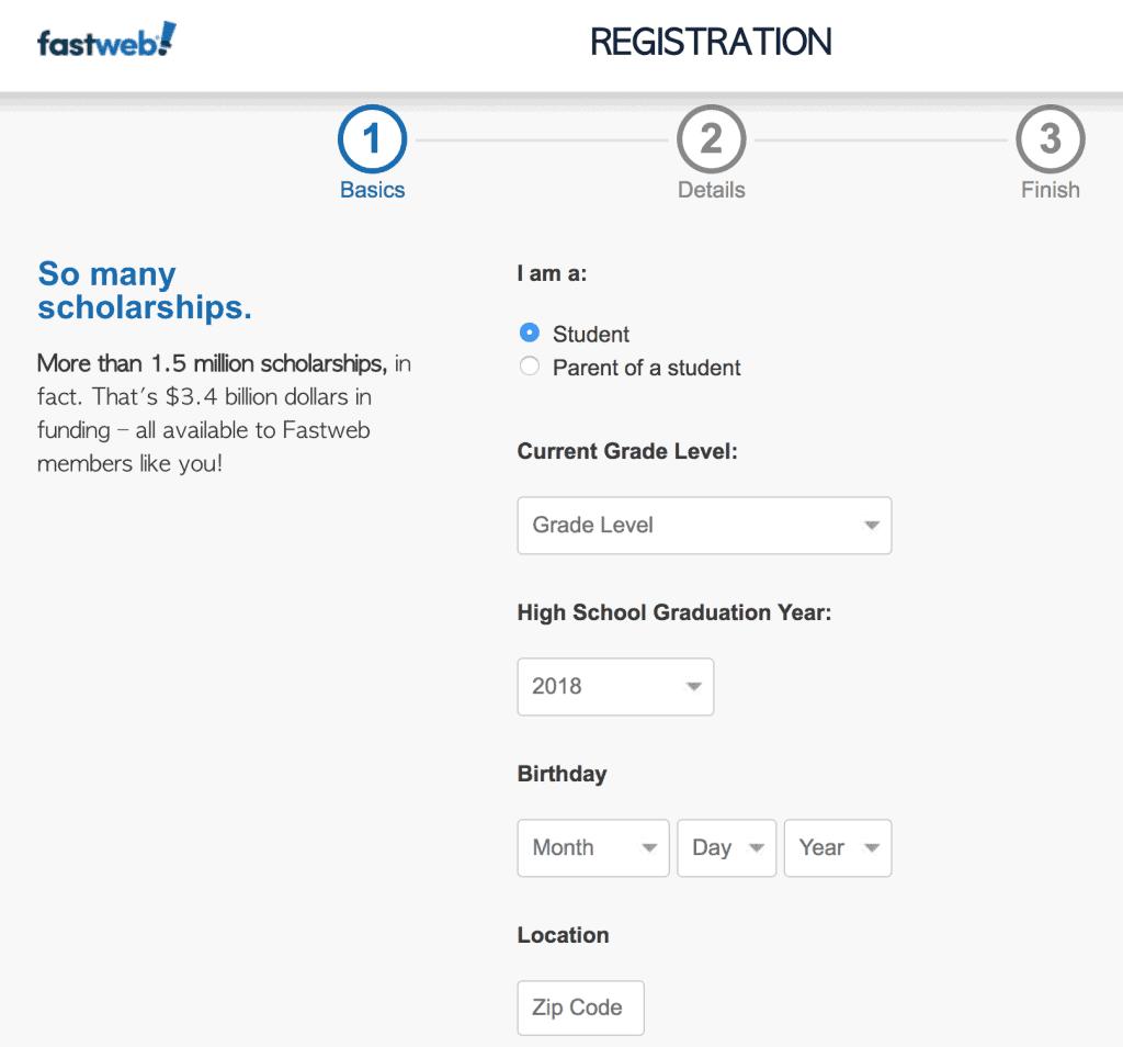 Fastweb Registration