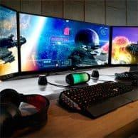 """Gaming Monitor Review LG 25"""" LED Monitor"""