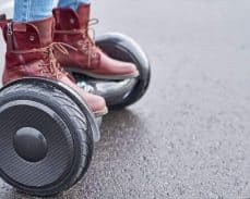 Hoverboard Safety Features - Temperature-Resistant Shell