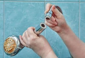How Big is Your Bathroom - broken nozzel