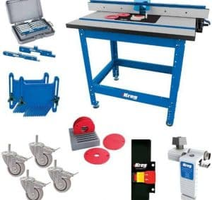 How Much Do Router Tables Cost - Kreg PRS1045