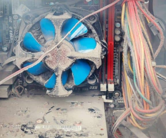 How to Clean Your Computer Fan