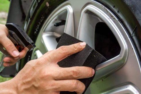How to Clean Your Tires