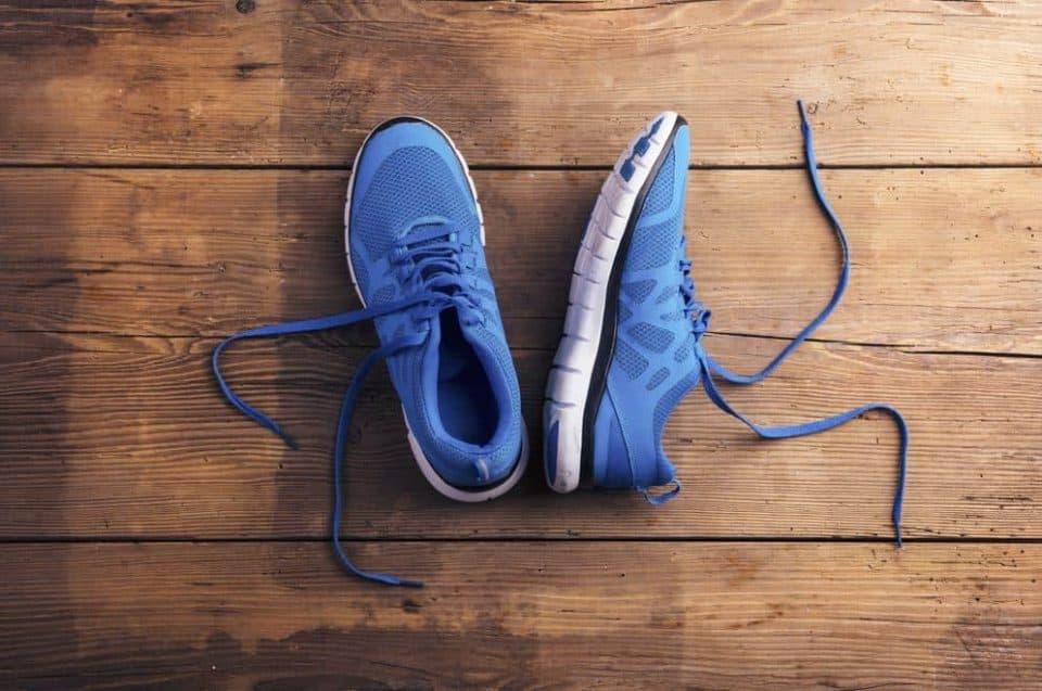 Parts of a Walking Shoe