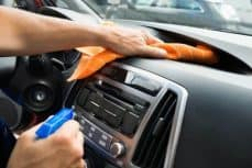 Secure Mounting - clean the dash
