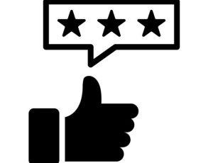 Selection Criteria - Customer ratings