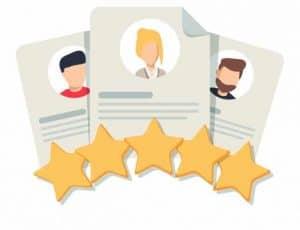 Selection Criteria - Customer reviews