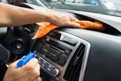 Tips for Cleaning Out Your Car - Spray