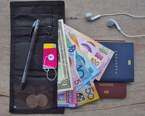 Travelambo Minimalist Slim Wallet
