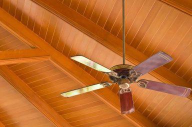 Types of Ceiling Fans - Flush Mount Ceiling Fan