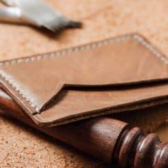Types of Mens Wallets - Slim wallets