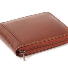 Types of Mens Wallets - Zippered wallets