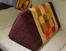 Types of Pillows for Neck Pain - wedge pillow