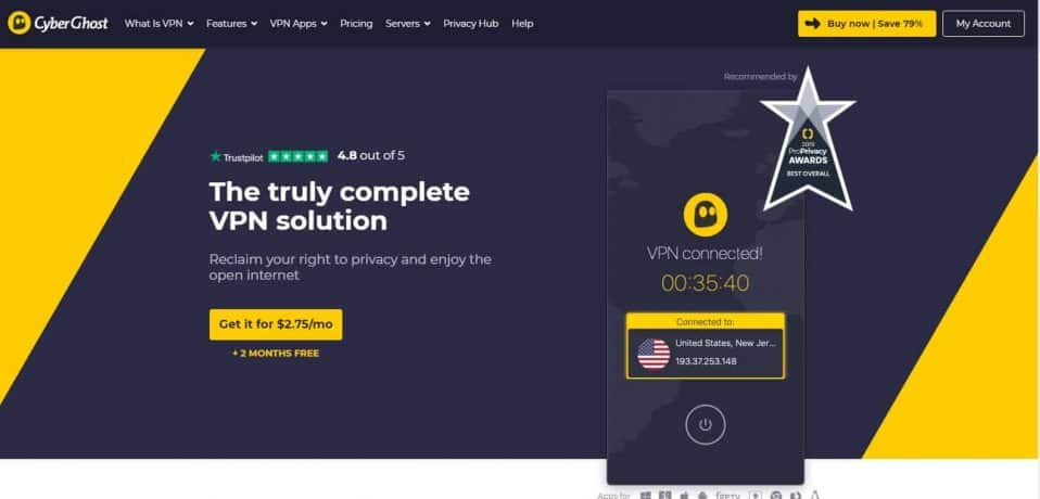 VPN Review CyberghostVPN