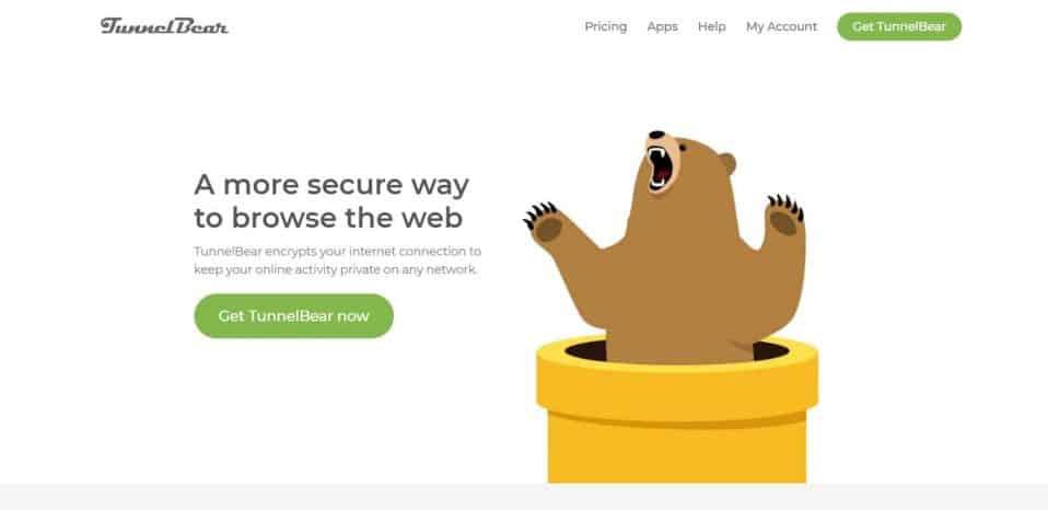 VPN Review TunnelBear