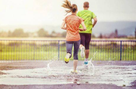 Waterproof vs. Splash-Proof - rain