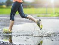 Waterproof vs. Water-Resistant - exercising