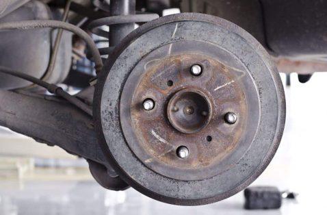 What are Brake Pads - Drum brakes